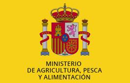 Logotipo del Ministerio de Agricultura, Pesca y Alimentación del Gobierno de España